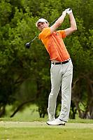 SAN ANTONIO, TX - MARCH 21, 2017: The University of Texas at San Antonio Roadrunners host the UTSA Lone Star Invitational Men's Golf Tournament at the Briggs Ranch Golf Club. (Photo by Jeff Huehn)