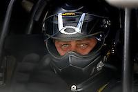 Jan 21, 2007; Las Vegas, NV, USA; NHRA Funny Car driver Scott Kalitta during preseason testing at The Strip at Las Vegas Motor Speedway in Las Vegas, NV. Mandatory Credit: Mark J. Rebilas