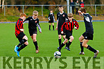 Action from theNational cup match between Tralee Dynamos and Holy Cross Limerick U13 last Saturday at the KDL, Tralee.