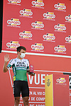 Jonathan Lastra (ESP) Caja Rural-Seguros RGA most aggressive rider from yesterday's stage at sign on before the start of Stage 12 of La Vuelta d'Espana 2021, running 175km from Jaén to Córdoba, Spain. 26th August 2021.   <br /> Picture: Cxcling   Cyclefile<br /> <br /> All photos usage must carry mandatory copyright credit (© Cyclefile   Cxcling)