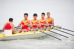 China Team competes during the Rowing Men's competition on Day Eight of the 5th Asian Beach Games 2016 at Bien Dong Park on 01 October 2016, in Danang, Vietnam. Photo by Marcio Machado / Power Sport Images