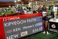 9th July 2021, Monaco, France; Diamond League Athletics, Herculis meeting, Monaco; Faith Kipyegon Kenya