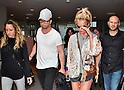 Britney Spears arrives at Narita Airport in Japan
