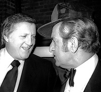 George Steinbrenner Danny Thomas 1981<br /> Photo By Adam Scull/PHOTOlink.net