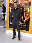 Josh Hutcherson at The  Los Angeles Premiere of The Hunger Games: Mockingjay - Part 1 held at  Nokia Theatre L.A. Live in Los Angeles, California on November 17,2014                                                                               © 2014 Hollywood Press Agency