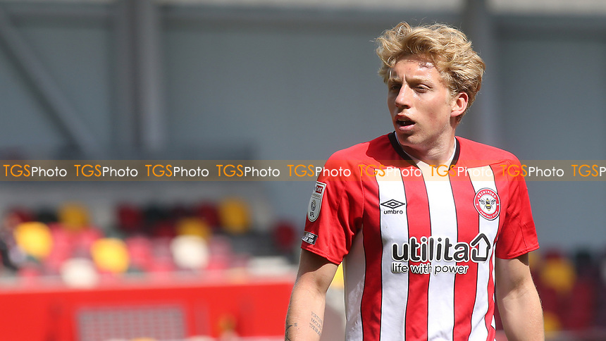 Mads Bidstrup of Brentford during Brentford vs Watford, Sky Bet EFL Championship Football at the Brentford Community Stadium on 1st May 2021