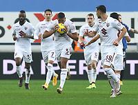 Bergamo  06-02-2021<br /> Stadio Atleti d'Italia<br /> Serie A  Tim 2020/21<br /> Atalanta- Torino nella foto:    Bremer esultanza                                                      <br /> Antonio Saia Kines Milano