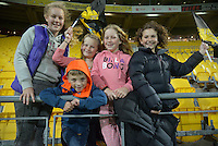 Fans in the grandstand after the Super Rugby match between the Hurricanes and Reds at Westpac Stadium, Wellington, New Zealand on Saturday, 14 May 2016. Photo: Dave Lintott / lintottphoto.co.nz