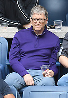 FLUSHING NY- SEPTEMBER 10: Bill Gates at the US Open Men's Final Championship match at the USTA Billie Jean King National Tennis Center on September 10, 2017 in Flushing, Queens. Credit: John Palmer/MediaPunch