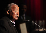 David N. Dinkins.attending the Woodie King Jr's NFT New Federal Theatre 40th Reunion Gala Benefit Awards Presentation in New York City.