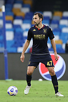 Milan Badelj of Genoa CFC<br /> during the Serie A football match between SSC Napoli and Genoa CFC at stadio San Paolo in Napoli (Italy), September 27, 2020. <br /> Photo Cesare Purini / Insidefoto