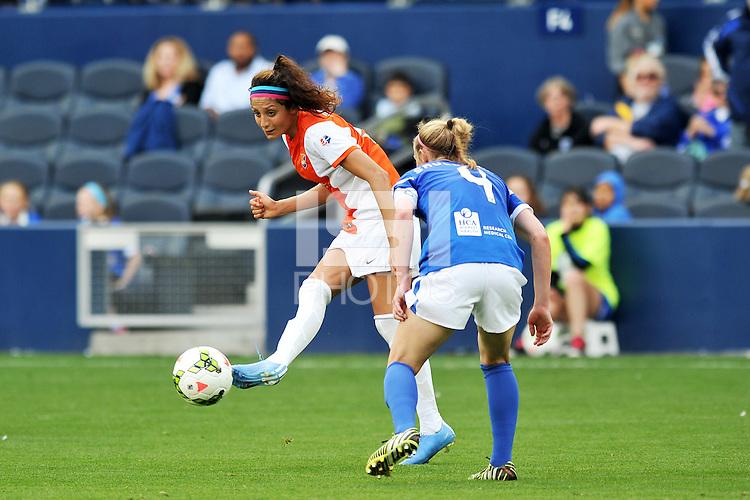 Kansas City, Kansas - April 12, 2015: Sky Blue defeated FC Kansas City 1-0 in the season opener at Sporting Park.