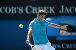 Federer wins at Australian Open in Melbourne Australia on 15thJanuary 2013