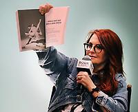 Megan Mullally 6/1/2018<br /> 2018 Book Expo at the Javitz Center<br /> Photo By John BarrettPHOTOlink.net