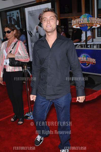 """Lance Bass at the world premiere of """"I Now Pronounce You Chuck and Larry"""" at the Gibson Amphitheatre, Universal City..July 13, 2007  Los Angeles, CA.Picture: Paul Smith / Featureflash"""