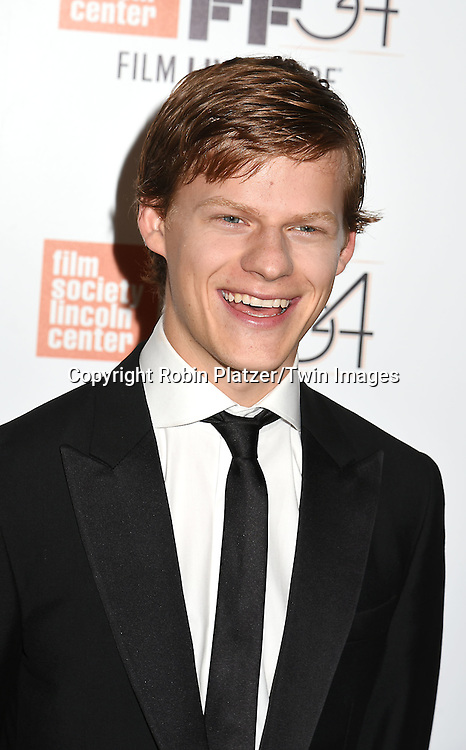 """Lucas Hedges attend the """"Manchester by the Sea"""" Screening at the New York Film Festival on October 1, 2016 at Alice Tylly Hall in Lincoln Center in New York, New York, USA.<br /> <br /> photo by Robin Platzer/Twin Images<br />  <br /> phone number 212-935-0770"""