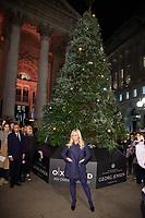 Emma Bunton<br /> turns on the Georg Jensen designed Christmas tree lights at the Royal Exchange, London.<br /> ©Ash Knotek  D3352  22/11/2017