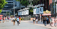 Singapore, Orchard Road Street Scene.
