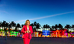 Miami attorney and incoming 2020 Florida Bar President Dori Foster-Morales against the backdrop of downtown Miami Beach, Florida.