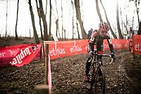 Denise Betsema (NED/Pauwels Sauzen-Bingoal)<br /> <br /> 2021 UCI CX World Cup Overijse (BEL)<br /> Vlaamse Druivencross<br /> <br /> Women's Race<br /> <br /> ©kramon