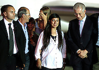 20120719 ROMA-CRONACA: ROSSELLA URRU TORNA A CASA