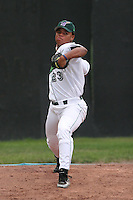 Jamestown Jammers Rodolfo Encarnacion during a NY-Penn League game at Russell Diethrick Park on July 9, 2006 in Jamestown, New York.  (Mike Janes/Four Seam Images)