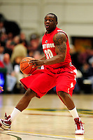 21 January 2010: Stony Brook University Seawolves' guard Chris Martin, a Junior from Springfield Gardens, NY, in action against the University of Vermont Catamounts at Patrick Gymnasium in Burlington, Vermont. The Catamounts fell to the Seawolves 65-60 in the America East matchup. Mandatory Credit: Ed Wolfstein Photo