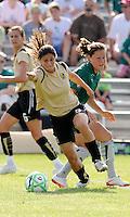 Tina DiMartino #5, Kendall Fletcher..Saint Louis Athletica tied 1-1 with F.C Gold Pride, at Anheuser-Busch Soccer Park, Fenton, Missouri.
