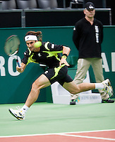 2011-02-07, Tennis, Rotterdam, ABNAMROWTT,   David Ferrer