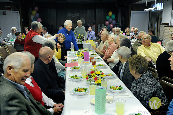 80th surprise birthday party for Ruth Wheeland, Williamsport, PA.