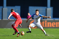 San Diego, CA - Sunday January 29, 2017: Jorge Villafana during an international friendly between the men's national teams of the United States (USA) and Serbia (SRB) at Qualcomm Stadium.