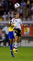Germany forward (8) Sandra Smisek. Germany defeated Brazil, 2-0 during the FIFA Women's World Cup final at Hongkou Stadium in Shanghai, China on September 30, 2007.
