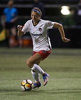 Seattle, WA - Saturday March 24, 2018: Ashley Hatch during a regular season National Women's Soccer League (NWSL) match between the Seattle Reign FC and the Washington Spirit at the UW Medicine Pitch at Memorial Stadium.