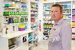 Dan Ahern at Ahern's Pharmacy in Farranfore