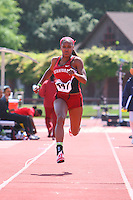 4 May 2008: Stanford Cardinal Brittni Dixon-Smith during Stanford's Payton Jordan Cardinal Invitational at Cobb Track & Angell Field in Stanford, CA.