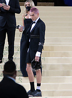 September 13, 2021.Evan Mock attend The 2021 Met Gala Celebrating In America: A Lexicon Of Fashion at<br /> Metropolitan Museum of Art  in New York September 13, 2021 Credit:RW/MediaPunch