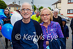 Jimmy and Eileen Moran as Jimmy comes home to Strand Road, after he spent three months in the hospital.