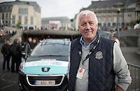 OPQS manager/CEO Patrick Lefevere (BEL) before the start in Liège<br /> <br /> Liège-Bastogne-Liège 2014