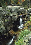 Screw Auger Falls on the Bear River in Grafton Notch State Park, Grafton Township, Maine, USA