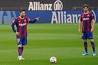 29th April 2021; Camp Nou, Barcelona, Catalonia, Spain; La Liga Football, Barcelona versus Granada; Leo Messi Barcelona forward sets up to take a direct free kick