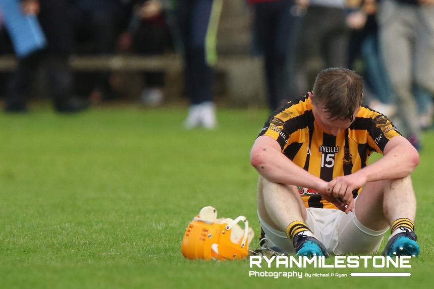 2017 Mid Tipperary Hurling Final,<br /> Upperchurch/Drombane vs Thurles Sarsfields,,<br /> Sunday 3rd September 2017,<br /> The Ragg, Co Tipperary,<br /> Loughlin Ryan of Upperchurch/Drombane dejected at the end of the game.<br /> Credit: Michael P Ryan