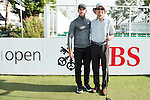 Romain Wattel of France poses with other players during the Pro-Am golf tournament of the 58th UBS Hong Kong Open as part of the European Tour on 07 December 2016, at the Hong Kong Golf Club, Fanling, Hong Kong, China. Photo by Marcio Rodrigo Machado / Power Sport Images