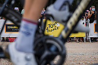 at the pre stage team presentation<br /> <br /> Stage 10 from Albertville to Valence (190.7km)<br /> 108th Tour de France 2021 (2.UWT)<br /> <br /> ©kramon