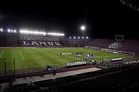 LANUS - ARGENTINA, 20-05-2021: Jugadores de Club Atletico Lanus (ARG) y de La Equidad (COL) antes de partido del grupo H fecha 5 entre Club Atletico Lanus (ARG) y La Equidad (COL) por la Copa CONMEBOL Sudamericana 2021 en el Estadio Ciudad de Lanus - Nestor Diaz Perez de la ciudad de Lanus. / Players of Club Atletico Lanus (ARG) and de La Equidad (COL) prior a match of the group H 5th date between Club Atletico Lanus (ARG) and La Equidad (COL) for the CONMEBOL Sudamericana Cup 2021 at the Ciudad de Lanus - Nestor Diaz Perez Stadium, in Lanus city. / Photo: VizzorImage / Fotobaires / Nicolas Aboaf / Cont.