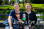 Enjoying their ice cream after a stroll in the Killarney National park on Thursday, l to r: Susan and Niamh Tugwell from Knocknagoshel.