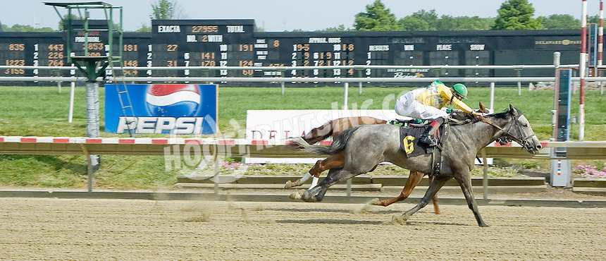 Winsome Willie winning at Delaware Park on 7/4/11