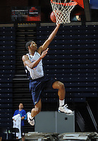 Crandall Head handles the ball during the 2009 NBPA Top 100 Basketball Camp held Friday June 17- 20, 2009 in Charlottesville, VA. Photo/ Andrew Shurtleff