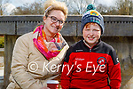 Enjoying a stroll in the Tralee town park on Thursday, l to r: Melissa and Ryan Nix