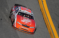 Feb 7, 2009; Daytona Beach, FL, USA; ARCA RE/MAX Series driver Joey Logano during the Lucas Oil Slick Mist 200 at Daytona International Speedway. Mandatory Credit: Mark J. Rebilas-