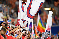 HOUSTON, TX - JUNE 10: Fan photo taken during a game between Portugal and USWNT at BBVA Stadium on June 10, 2021 in Houston, Texas.
